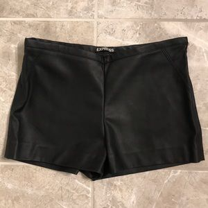 EXPRESS Leather Shorts